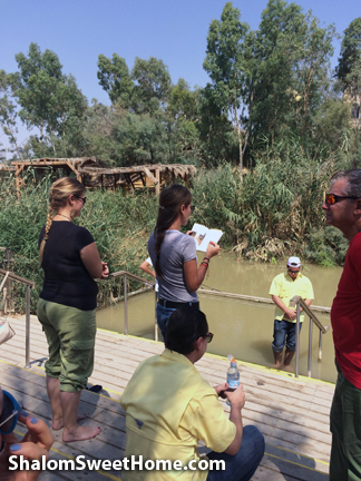 The Jordan River with Our Cousins